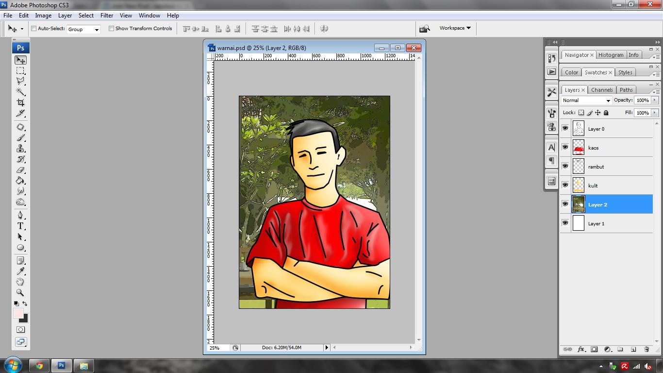 Mewarnai Dengan Adobe Photoshop Cs3 Neroboz